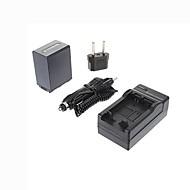 ismartdigi-Sony NP-FH100 (3900mAh, 7.2V) kamerabatteri + eu plug + billaddare för hdr-SR11 SR12E xr100e XR5