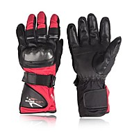 Ολόκληρο το Δάχτυλο Δερμάτινο Δέρμα Νάιλον Μοτοσικλέτες Γάντια