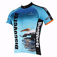 PALADIN® Cycling Jersey Men's Short Sleeve Bike Breathable / Quick Dry / Ultraviolet Resistant Jersey / TopsPolyester / 100% Polyester /