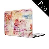"""cores do papel de parede de corpo inteiro caixa de plástico protetora para MacBook Pro 13 """"/ 15"""" (não-retina)"""