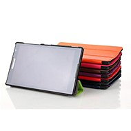 8 inch drie vouwpatroon pu lederen case voor tab lenovo s8-50 (verschillende kleuren)