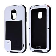 Για Samsung Galaxy Θήκη Ανθεκτική σε πτώσεις / Αδιάβροχη / Προστασία από τη σκόνη tok Πλήρης κάλυψη tok Πανοπλία Μεταλλικό Samsung S5