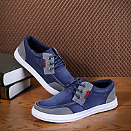 MEROKETTY®Man's Leisure Breathable Washed Canvas Shoes(Blue)