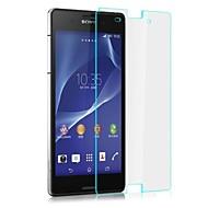 professionell hög transparens lcd kristallklar skärmskydd med rengöringsduk för Sony Xperia z3