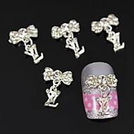 10pcs Jewelry Pendant Accessories Alloy DIY Stick Nail Art Decoration