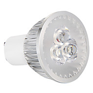 3W GU10 LED Spotlight 3 High Power LED 270 lm Natural White Dimmable AC 220-240 V