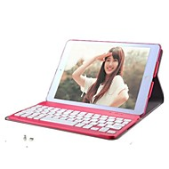 Solid Color PU Tablet Case Bluetooth Keyboard 360 rotation for iPad Air (Assorted Colors)