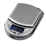 Mini Pocket Jewelry Scale Electronic Scale  500g/0.1g,Plastic 10X7X2.5CM