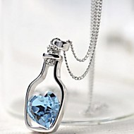 Wishing Bottles Crystal Necklace