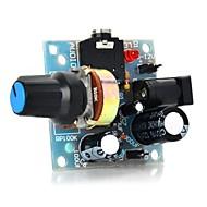 386 mini audio erősítő modul - világoskék (5 ~ 12V)