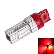 gc® T20 / 7443 80W 16-samsung SMD 850lm rødt lys førte til bil bremse lys (DC12 ~ 24V)
