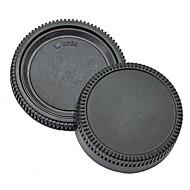 pajiatu® achterste lensdop + camera body cap voor Nikon D5100 D3100 D7000 D5000 D90 d80 d3 D2H d2x d200 d300 etc.