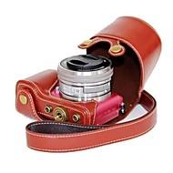 Pajiatu® PU Leather Camera Protective Case Bag Cover for Sony Alpha A5000 ILCE-5000 A5100 ILCE-5100 NEX-3N
