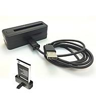 reservebatteri lader dock med micro usb kabel for samsung Note3 / N900