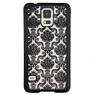 Για Samsung Galaxy Note Ανθεκτική σε πτώσεις / Με σχέδια tok Πίσω Κάλυμμα tok Σχέδιο δαντέλα PC Samsung Note 4
