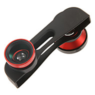 PHO-FWM-6 3-IN-ONE Macro Fish-eye Wide Photo Lens for iPhone6
