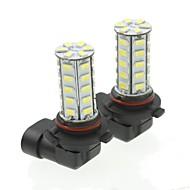 9006 20w 36x5730smd 800-1200lm 6000-6500k beyaz ışık araba sis lambası (bir çift / ac12-16v) için led ampul
