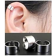 Κρίκοι Χειροπέδες Ear Κράμα Μαύρο Ασημί Χρυσαφί Κοσμήματα Γάμου Πάρτι Καθημερινά Causal