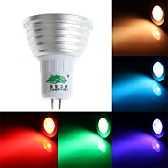 Zweihnde GU5.3 3 W 1 Dip LED 200-250 LM RGB S Dimmable/Remote-Controlled/Decorative Spot Lights AC 85-265 V