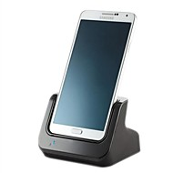 Dual Sync Battery Charger Cradle Dock Station Stand Sound Output for Samsung Note3 N900