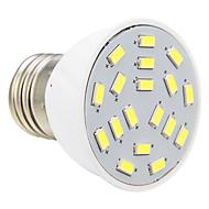E26/E27 4 W 18 SMD 5730 280 LM Varm hvit/Kjølig hvit Spotlys AC 220-240 V
