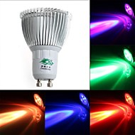 Spot Gradable/Commandée à Distance/Décorative RGB Zweihnde S GU10 3 W 1 Dip LED 200-250 LM K AC 85-265 V