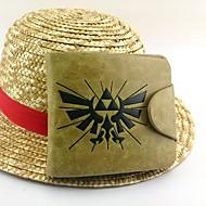 Laukku Innoittamana The Legend of Zelda Cosplay Anime/Video Pelit Cosplay-Tarvikkeet Laukku Keltainen Kiiltonahka / PU-nahka Uros