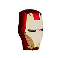 Marvel  6000mAh Avengers IRON MAN MarkIII Helmet USB Power Bank for iPhone Tablet iphone6/6plus/5S/4S/5 Samsung S4/5 HTC