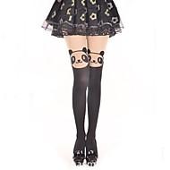 Strümpfe/Strumpfhosen Niedlich Klassische/Traditionelle Lolita Prinzessin See Through Lolita Accessoires Strümpfe Druck Für