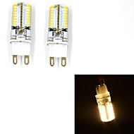 Corn Bulbs , G9 W 64 SMD 3014 185 LM Warm White V