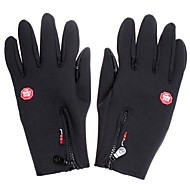 Simulated Leather Windproof Soft & Warm Outdoor Gloves