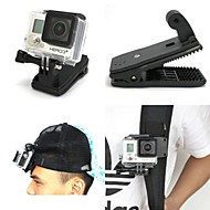 New Arrival Gopro Accessories 360 Degree Rotary Quick Clip Mount For GoPro Hero4 / Hero3+3 2 1