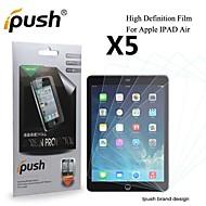 grande transparence hd lcd protecteur d'écran pour iPad Air / 5 (5 pièces)