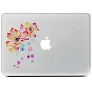 blomsten design dekorative hud sticker til MacBook Air / pro / pro med retina display