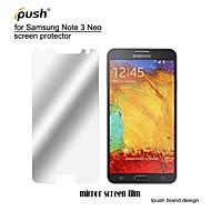 høj gennemsigtighed spejl LCD skærmbeskytter med renseklud til Samsung Galaxy note 3 neo