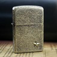 l'or de la terre a un style huile de décharge motif étoile en métal léger aléatoire