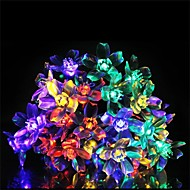 50 Lamp with Peach Blossom Solar Lamp Series(Assorted Color)