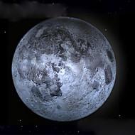 luce della luna guarigione condotto la lampada da parete Luna con telecomando