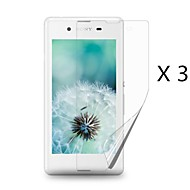 (3 pcs)High Definition Screen Protector for Sony Xperia E3