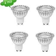 9W GU10 Spot LED MR16 1 COB 810 lm Blanc Chaud AC 85-265 V