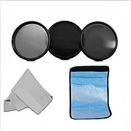 58mm neutralne gustoće profesionalna fotografija filter set (ND2 ND4 ND8) + krpu za čišćenje