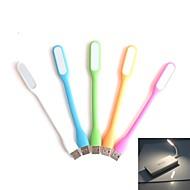 USB portable mini-lumière de nuit la lumière blanche