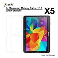 korkea läpinäkyvyys HD LCD näytönsuoja Samsung Galaxy Tab 4 10,0 (5 kpl)
