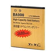 이순신 - 이순신 ™ XPERIA TX / lt29i / XPERIA J / st26i / 엑스 페리아 L / s36h / ba900에 대한 충전식 2680mah 3.7 리튬 이온 배터리