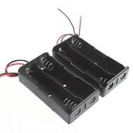 accubak voor 18650 batterijen (2 stuks)