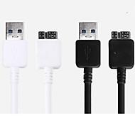 usb sync og opladning kabel til Samsung Galaxy Note 3 / S4 / S3 / s2 og andre mobiltelefoner (assorterede farver)