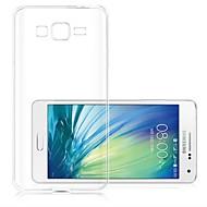 Varten Samsung Galaxy kotelo Läpinäkyvä Etui Takakuori Etui Yksivärinen TPU Samsung A5