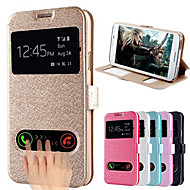 DF Silk Pattern Dual Window Full Body Case for Samsung S5 I9600(Assorted Color)