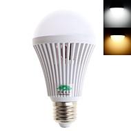 5W E26/E27 LEDボール型電球 G60 20 SMD 2835 350 lm 温白色 / クールホワイト 装飾用 交流220から240 V