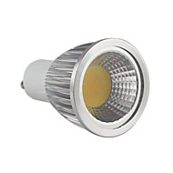 Dimmable Spot Lights/Par Lights , GU10 5 W 1 COB 350-400 LM Warm White MR16/PAR AC 220-240 V